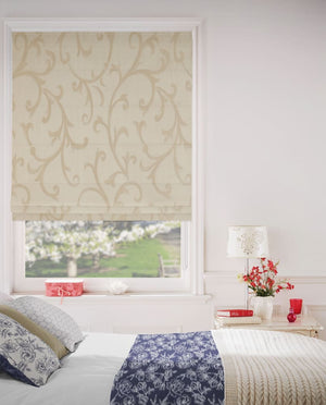 Spanish Beige - Roman Blinds