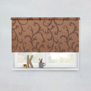 Spanish Coffee Roller Blinds