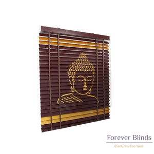 Spiritual Buddha Timber Venetian Blinds