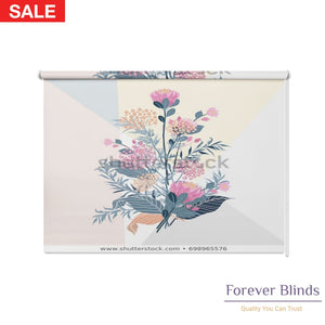 Summer Flora Blockout Printed Roller Blinds