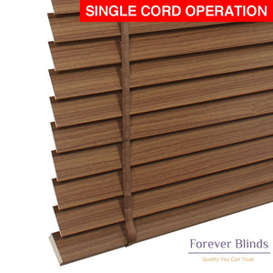 Teak Wood Timber Venetian Blinds