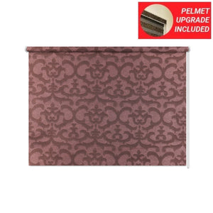 Textured Antique Fuchsia Roller Blinds