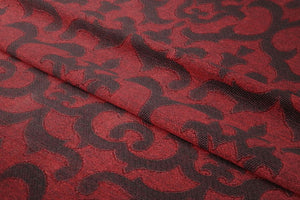Textured Maroon Roller Blinds