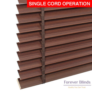 Walnut Wood Timber Venetian Blinds