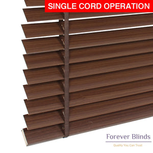 Wenge Wood Timber Venetian Blinds