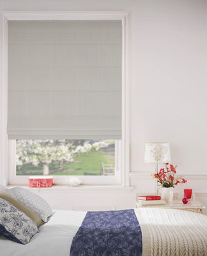 White Sea Shell Roman Blinds