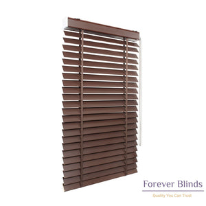 Wood Oak Timber Venetian Blinds