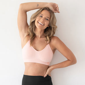 The Diana Classic Sports Bra | Pink Heather