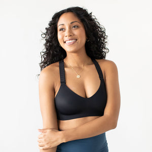 The Valentina High Support Sports Bra | Black