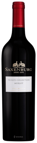 Saxenburg Private Collection Merlot Sudáfrica