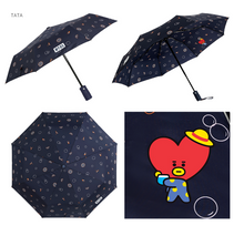 Load image into Gallery viewer, [現貨] Monopoly X BT21 Safety Automatic Folding Umbrella