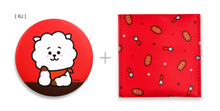 Load image into Gallery viewer, [現貨] Monopoly X BT21 Pouch Mirror Version 2