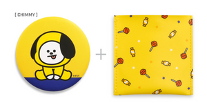[現貨] Monopoly X BT21 Pouch Mirror Version 2
