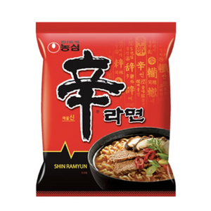 SHIN RAMEN - Korea Edition (MULTI PACK) 120GX5