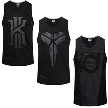 Load image into Gallery viewer, Asian Size Basketball Jerseys Sleeveless Breathable Sports Shirts Outdoor Running Tops GYM Training Sportswear