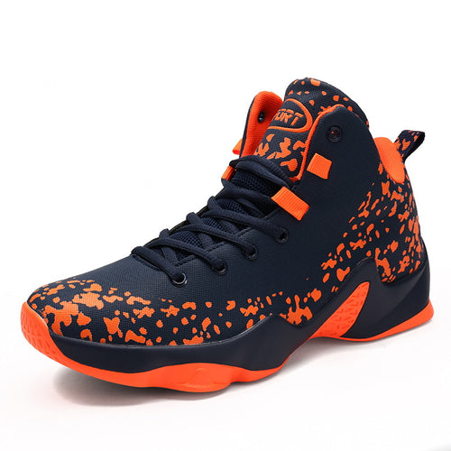 2019 Men Basketball Boots High Top Men Basketball Shoes Rubber Sole Man Ball Ankle Boots High Quality Basket Sneakers