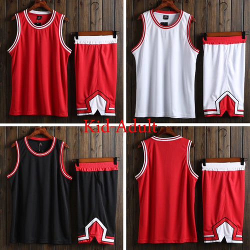 2018 Men College Basketball Jerseys , Youth Basketball Uniform, Child Cheap basketball T Shirt , Custom kits Jersey Clothes Red