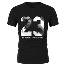Load image into Gallery viewer, Mens 23# basketball t-shirts youth boy street hip-hop tshirt Creative men hombre cotton Tee tops male t shirt