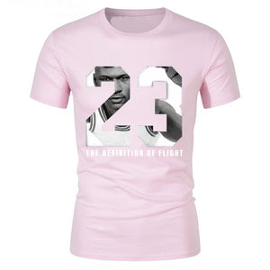 Mens 23# basketball t-shirts youth boy street hip-hop tshirt Creative men hombre cotton Tee tops male t shirt