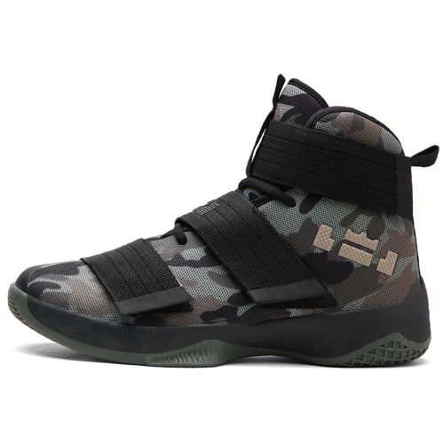 019 Basketball Shoes For Men  Ultra Green Camouflage Basket  Shoes Unisex Star Sneakers Ball Super