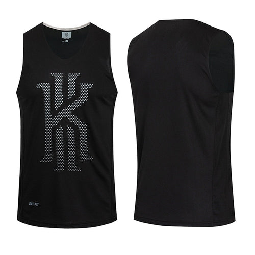 Reversible Basketball Jerseys Asian Size KI & KD & KB Quick Dry Breathable Outdoor Sports Comfortable T-shirts Training Vest