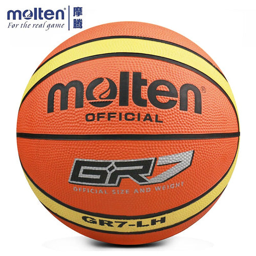 Super Deal Original Molten GR5 GR6 GR7 Basketball Ball High Elastic Basketball For Indoor Outdoor Training With Ball Net Needle