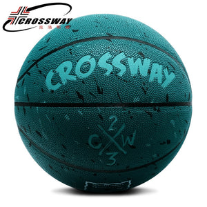 Basketbol 2019 Baloncesto Outdoor Indoor Size 7 PU Leather Basketball Ball Training Basket Ball Free Gift Basketball Net Needle