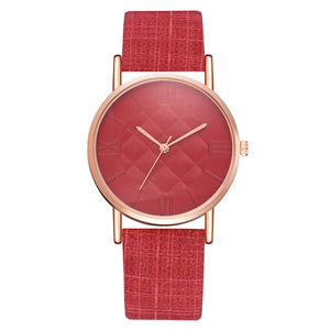 montre-femme-luxe-pas-cher-rouge-luxury-valentina