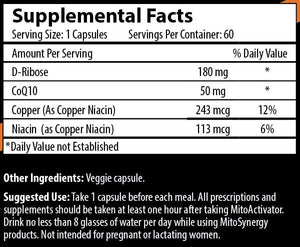 MitoActivator - Original Formula - 60 Capsules - Alternative Health Now