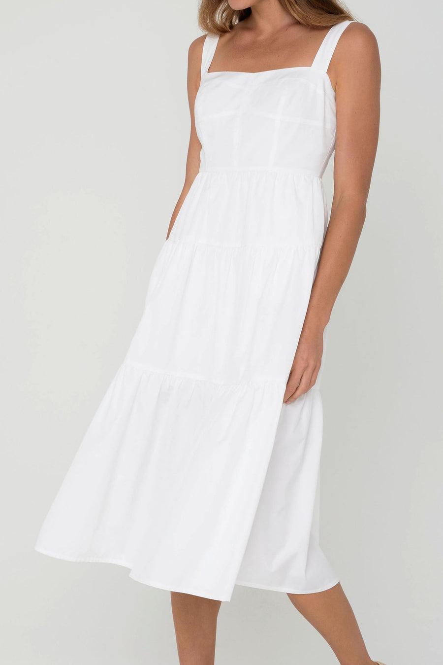 Kimberley Anne COASTLINES Organic Cotton Dress (Midi)