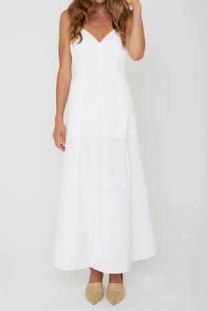 Coastlines Organic Cotton Maxi Dress