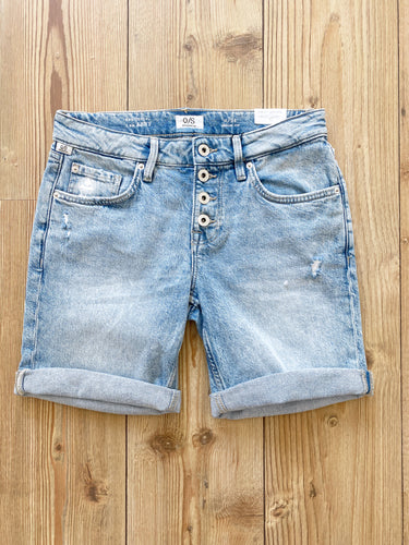 QS by s.Oliver Damen-Denimshorts
