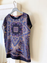 Laden Sie das Bild in den Galerie-Viewer, Betty & Co. Damen-T-Shirt mit Paisleymuster