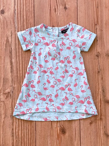 Baby/Girls-Kleid Flamingo