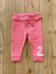 Baby/Girls-Jogginghose Flamingo