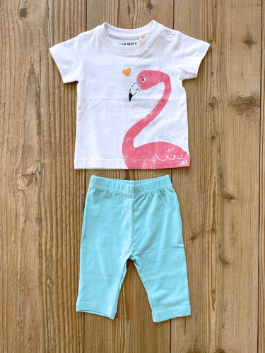 Baby/Girls-Set aus T-Shirt und Leggings