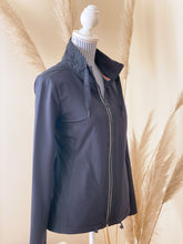 Laden Sie das Bild in den Galerie-Viewer, Cecil Damen-Sweatjacke Materialmix