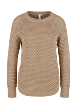 Laden Sie das Bild in den Galerie-Viewer, QS by s.Oliver Damen Strickpullover