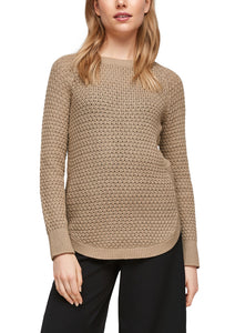 QS by s.Oliver Damen Strickpullover
