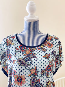 Cecil Damen-Shirt mit Paisley-Muster