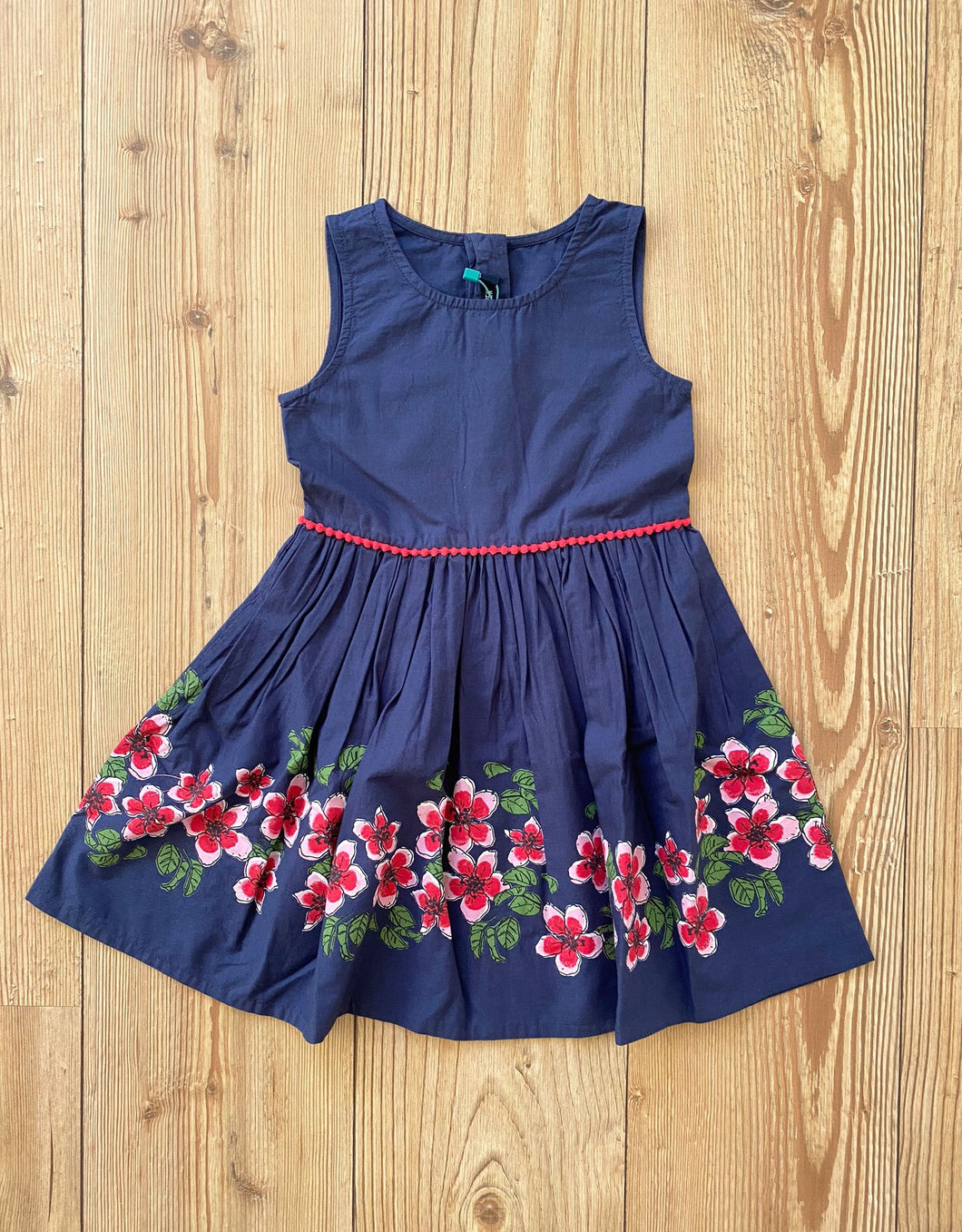Kids/Girls-Kleid Blumenprint
