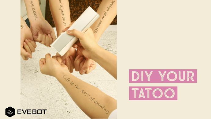 How to Make Temporary Tattoos without a Gun: Only Two Steps
