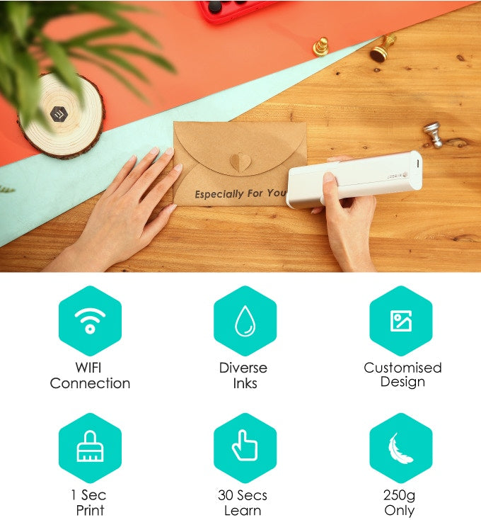 PrintPen: Portable Printer