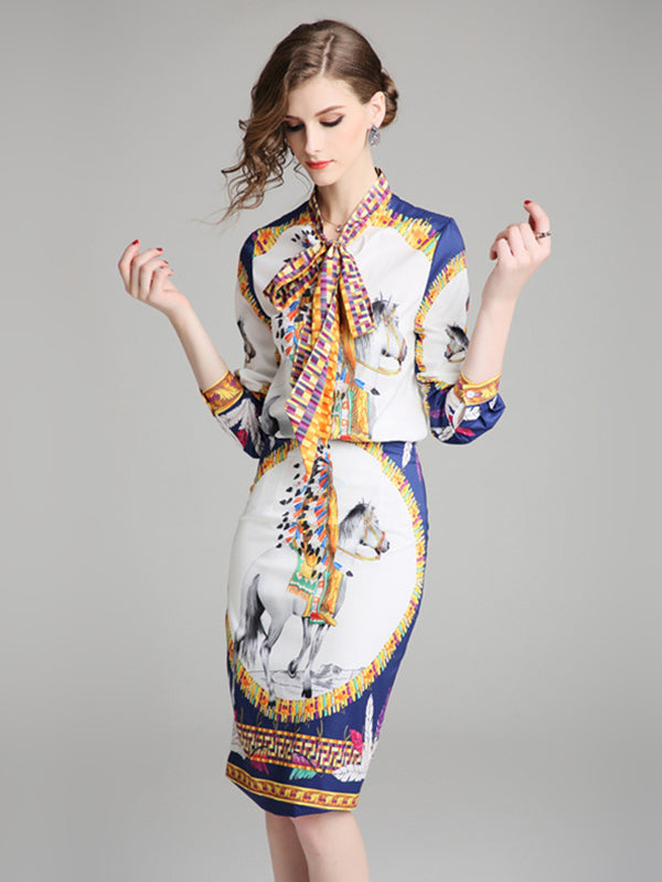 https://www.dresssure.com/collections/bodycon-dresses/products/work-suit-floral-print-bowknot-long-sleeve-shirt-amp-sheath-dress