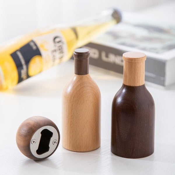 Wood Wine Bottle Opener-That Online Company