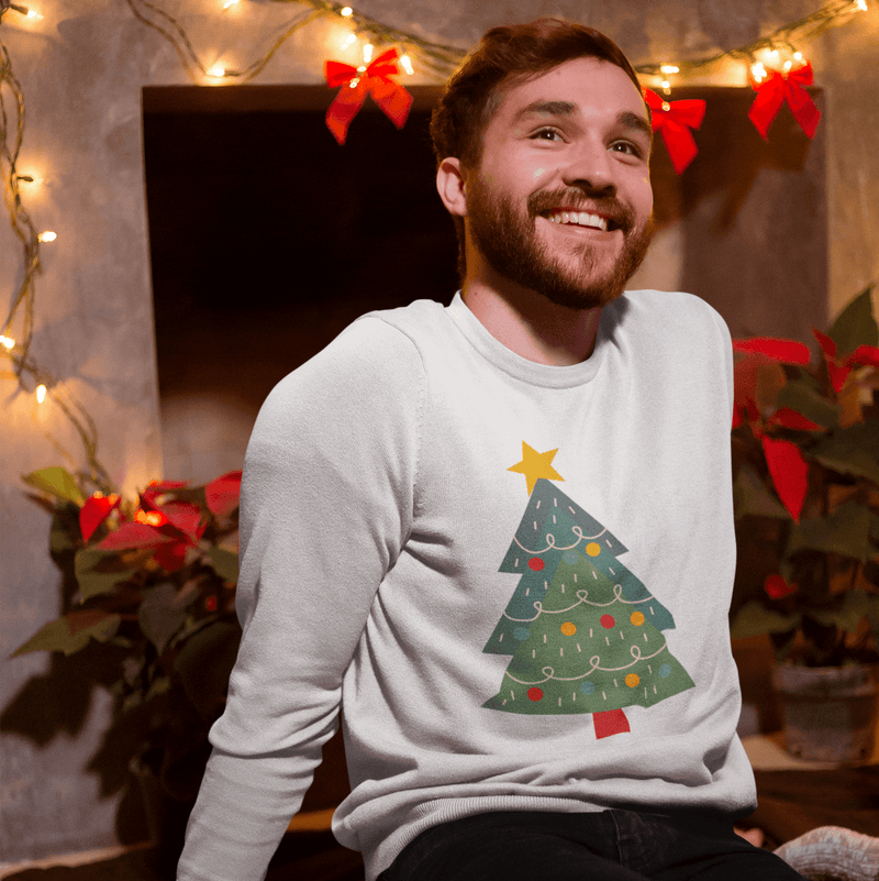 Evergreen Christmas | Unisex Sweatshirt-That Online Company