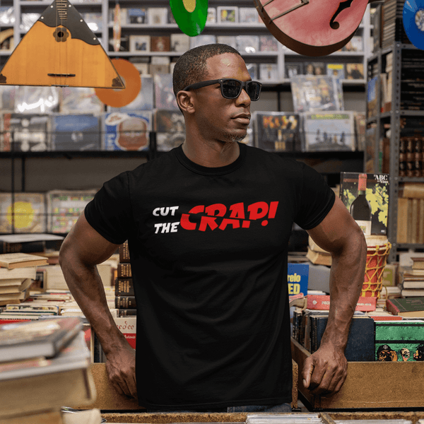 Cut the crap | Unisex Jersey Tee-That Online Company