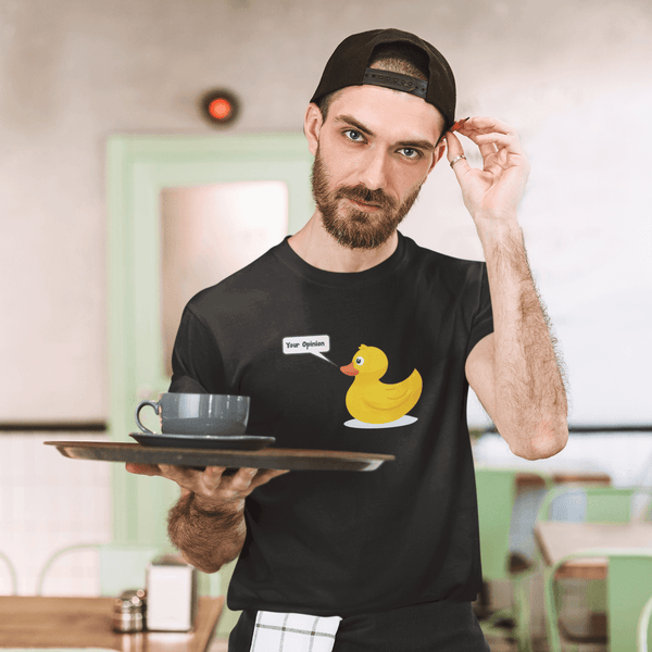 Duck Your Opinion | Unisex Jersey Tee-That Online Company