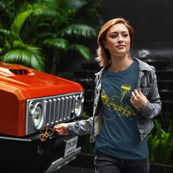 Car Engine | Unisex Jersey Tee-That Online Company