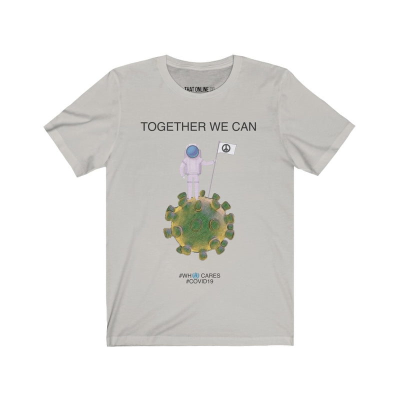 Together we can | Unisex Jersey Tee-That Online Company